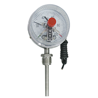 WSSX Electric Contact Bimetal Thermometer