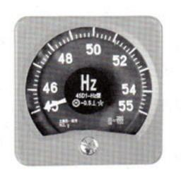 45D1-HZ wide angle frequency meter produced Shanghai ZiYi Marine Instrument Co, Ltd.