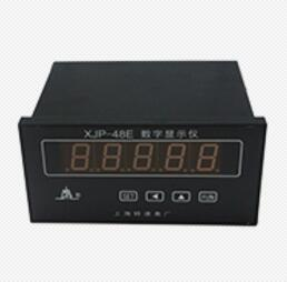 XJP-48E rotating speed digital displayer produced by SHANGHAI AUTOMATION INSTRUMENT TACHOMETER AND INSTRUMENT MOTOR CO., LTD.